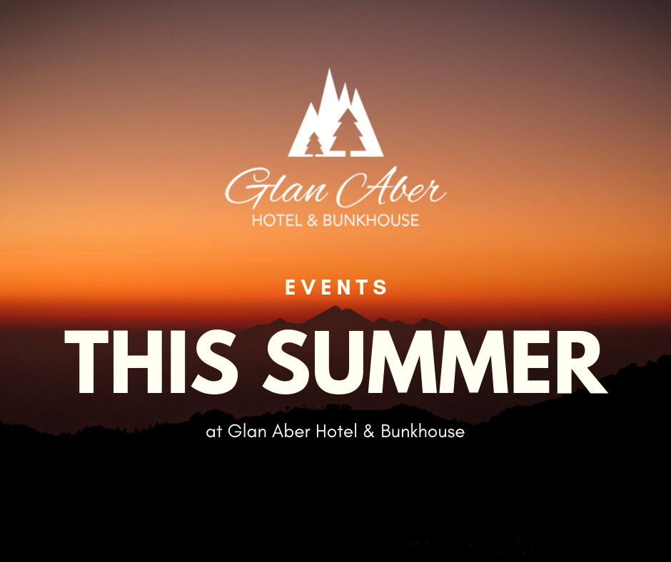 Events this Summer at Glan Aber